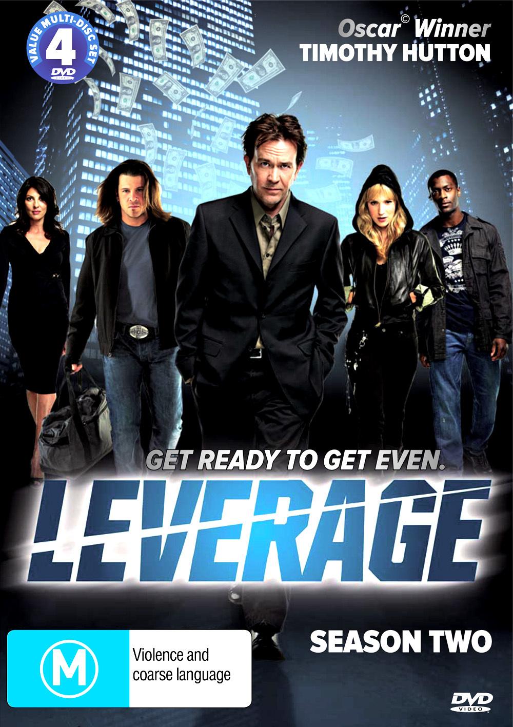 Leverage - Season 2 (4 Disc Set) on DVD image