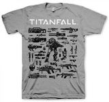 Titanfall Choose Your Weapon Men's T-Shirt (Medium)