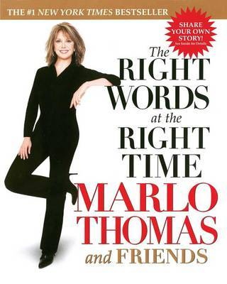 Right Words at the Right Time by Marlo Thomas image
