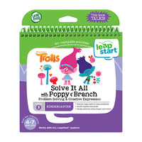 Leapstart: Trolls Problem Solving - Activity Book (Level 3)