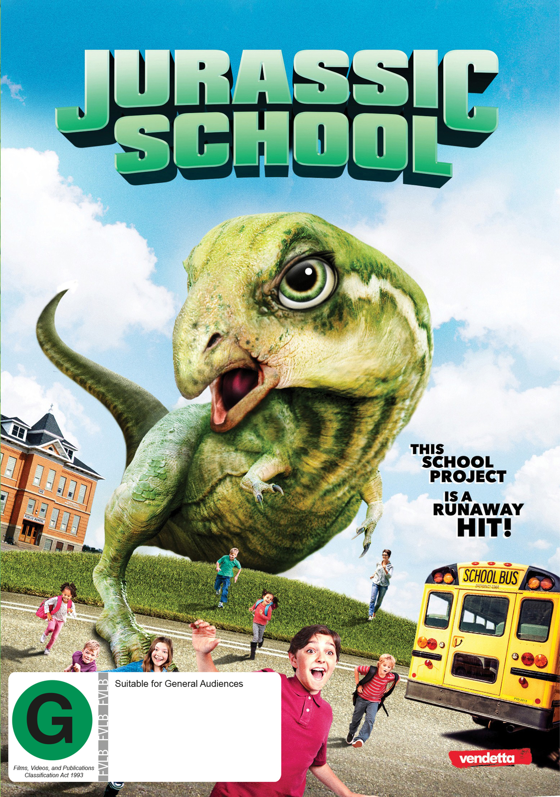 Jurassic School on DVD image