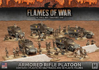 Flames of War: Fighting First - Armored Rifle Platoon (Plastic)