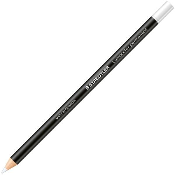 Staedtler: Lumocolor Glasochrom Pencil - White