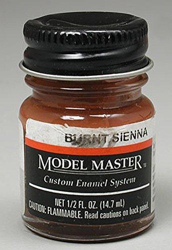 Testors: Enamel Paint - Burnt Sienna (Flat)