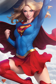 Supergirl Flying Maxi Poster (868)