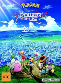 Pokemon The Movie: The Power Of Us on Blu-ray