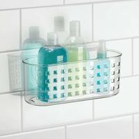 Interdesign: Classic Suction Shower Basket image
