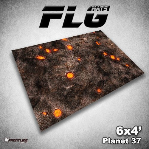 FLG Planet 37 Neoprene Gaming Mat (6x4)