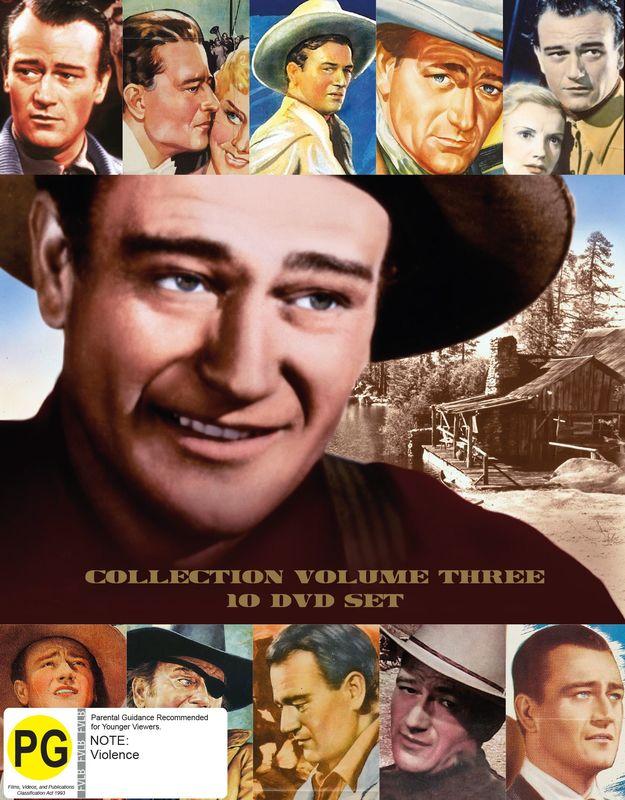 John Wayne Collection: Volume Three on DVD