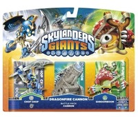 Skylanders Giants Battlepack: Chop Chop, Shroomboom, Cannon piece (All Formats) for Wii