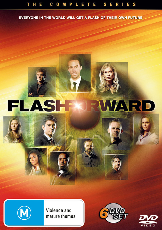 FlashForward - The Complete Series (6 Disc Set) on DVD