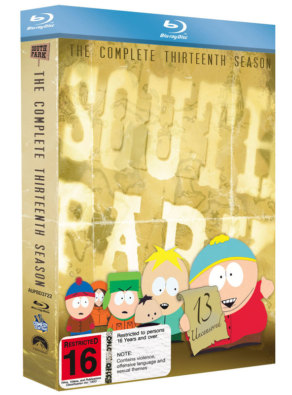 South Park - The Complete Thirteenth Season: Uncensored on Blu-ray