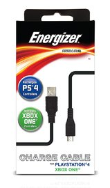 Energizer 6-Feet Universal Power and Play Charge Cable for Xbox One