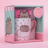 Pusheen the Cat Socks in a Mug - Marshmallow