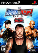 WWE SmackDown! vs. RAW 2008 (Platinum) for PlayStation 2