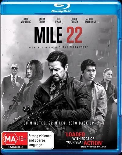 Mile 22 on Blu-ray
