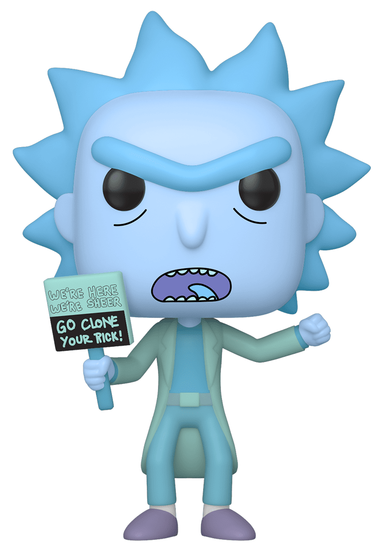 Rick & Morty - Hologram Rick Clone Pop! Vinyl Figure image