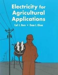 Electricity for Agriculture Appliances by Carl J Bern image