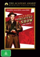 Greatest Show On Earth, The (Academy Award Winning Collection) on DVD