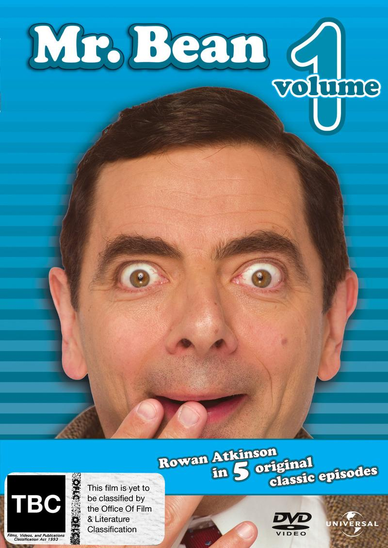 Mr. Bean - Volume 1 on DVD image