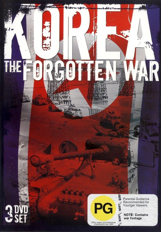 Korea - The Forgotten War (3 Disc Set) on DVD