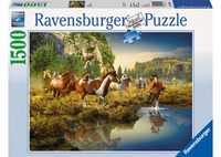 Ravensburger Wild Horses Puzzle (1500pc)