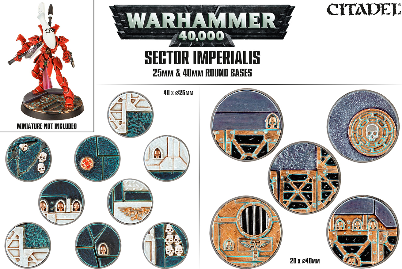 Sector Imperialis 25mm & 40mm Round Bases image