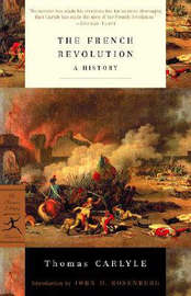 Mod Lib The French Revolution by Thomas Carlyle