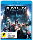 X-Men Apocalypse on Blu-ray