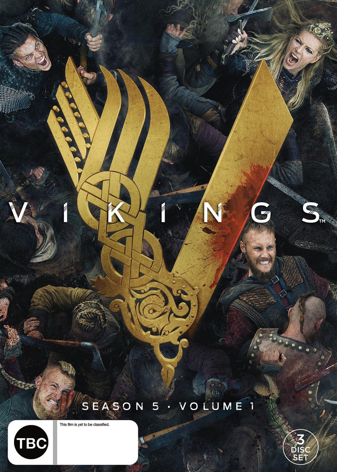 Vikings - Season 5 Volume 1 on DVD image