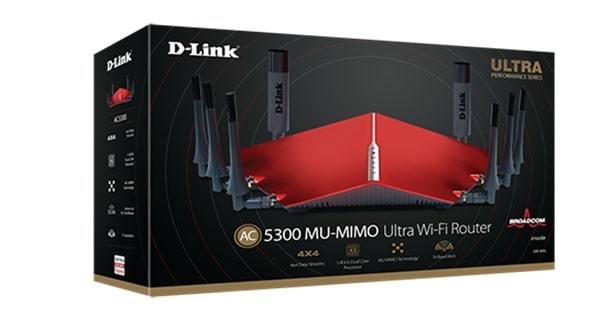 D-Link: AC5300 DIR-895L Tri-Band WiFi Router image