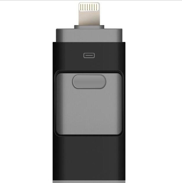 3 in 1 Flash Drive for iPhone or iPad - 64GB