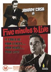 Five Minutes To Live on DVD