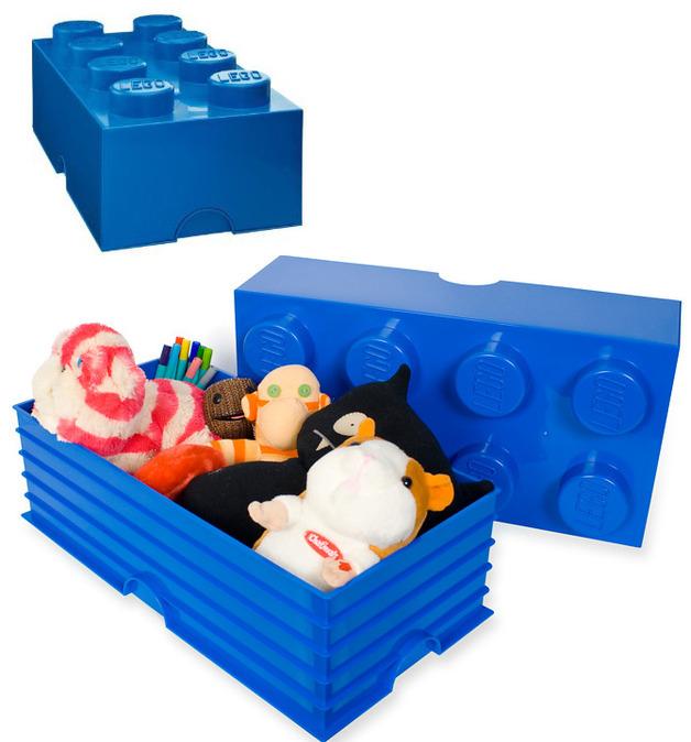 LEGO: Storage Brick 8 - Dark Blue