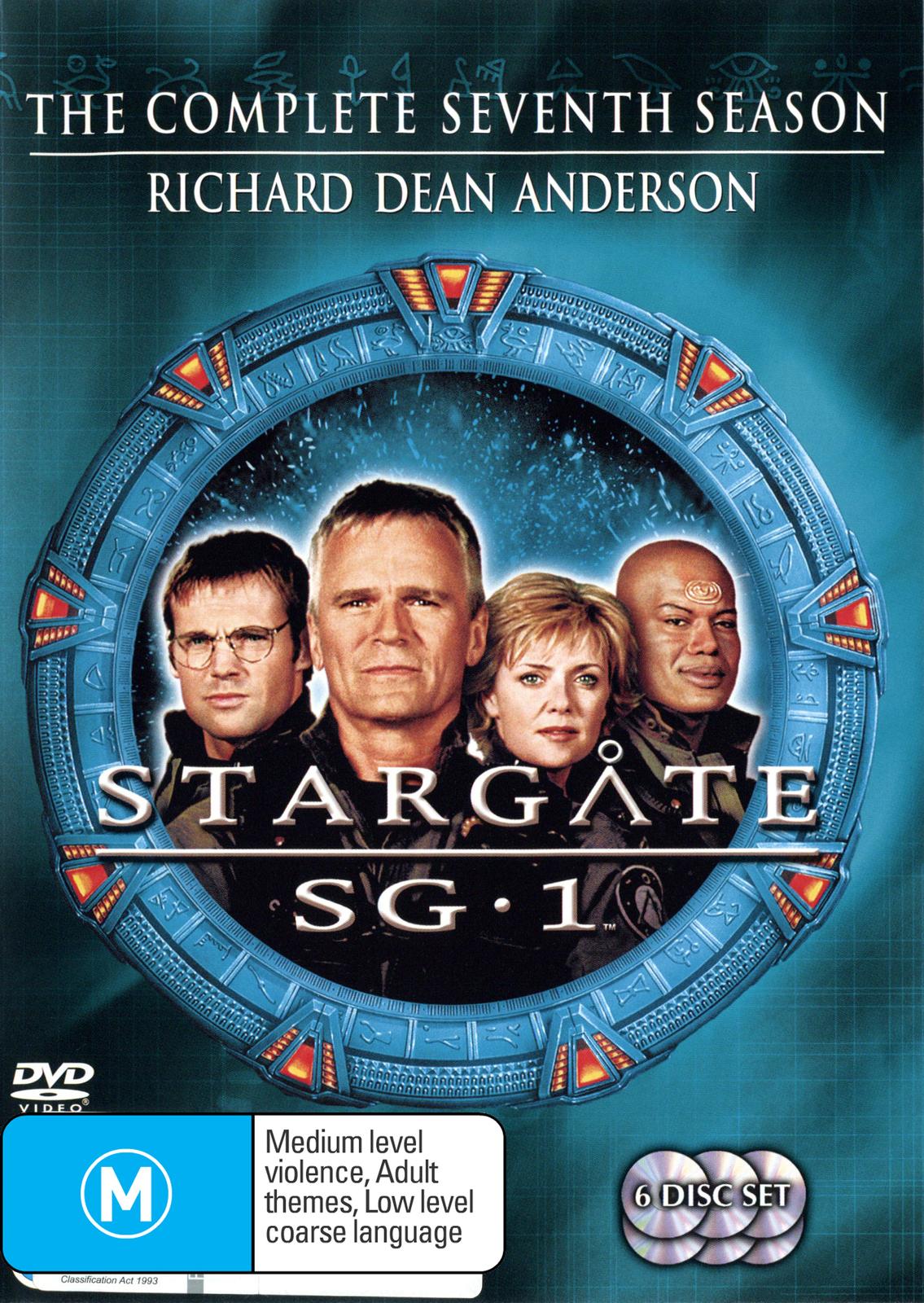 Stargate SG-1 - Season 7 (6 Disc Set) (New Packaging) on DVD image