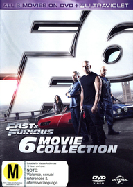 Fast & Furious - 6 Movie Collection on DVD