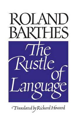 The Rustle of Language by Roland Barthes image