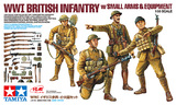 Tamiya 1:35 WWI British Infantry w/Small Arms & Equipment