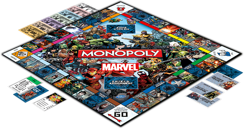 Monopoly - Marvel Universe Edition image