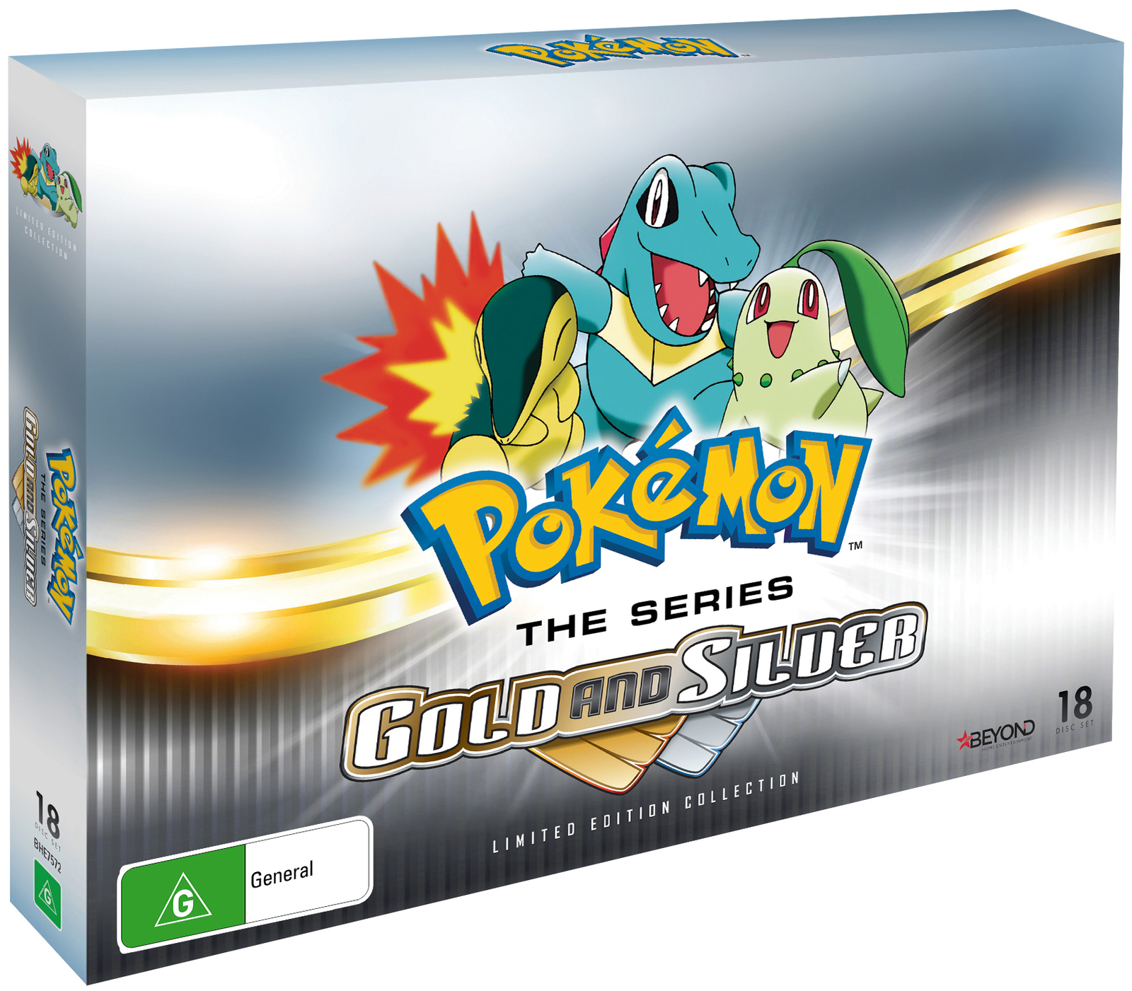 Pokemon Gold And Silver Collector's Set on DVD image