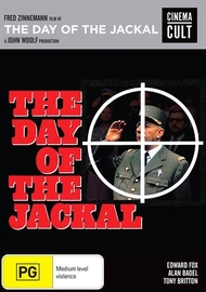 The Day Of The Jackal on DVD