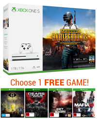 Xbox One S 1TB PlayerUnknown's Battlegrounds Bundle for Xbox One