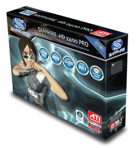 Sapphire Radeon HD2400 Pro 256MB DDR2 PCI-E VGA / DVI / TV-Out image
