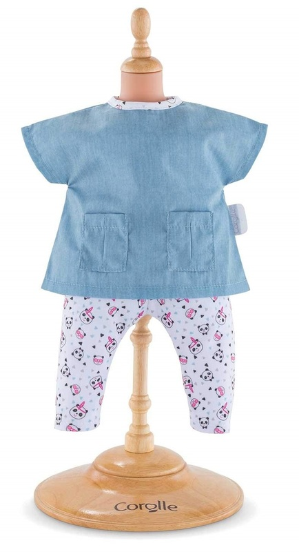 Corolle: Panda Party Blouse & Pants - Doll Clothing (36cm)