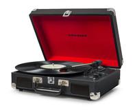 Crosley: Cruiser Deluxe Portable Turntable - Black