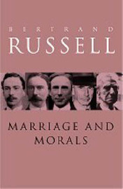 Marriage and Morals by Bertrand Russell image