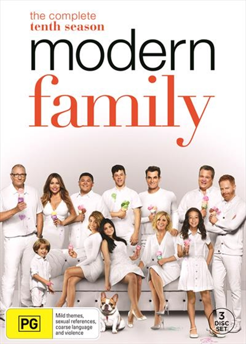 Modern Family - The Complete Tenth Season on DVD image
