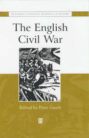 The English Civil War by Peter Gaunt image