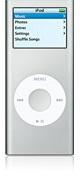 Apple iPod nano 4GB - Silver