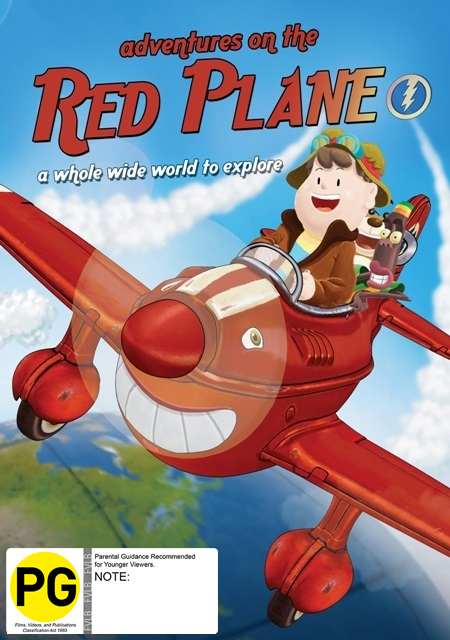 Adventures on the Red Plane on DVD